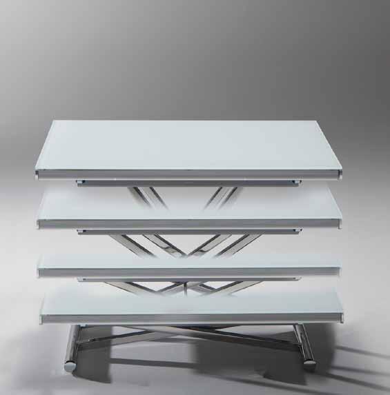DOMUS ARREDI: genius il tavolino che diventa tavolo di Riflessi ...