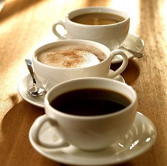 le café et l'énergie corporel