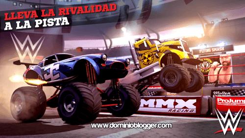 Se parte de la competencia mas dura en MMX Racing Featuring WWE