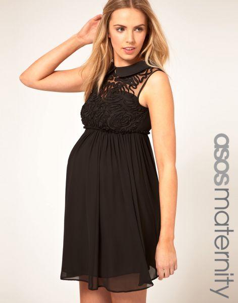 Vestido de noche para embarazadas 2013