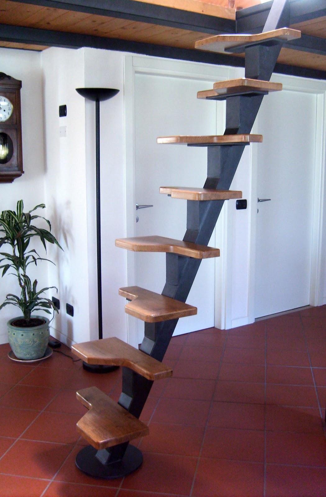 Tiziana lutteri una scala per il soppalco - Scale per soppalchi ...