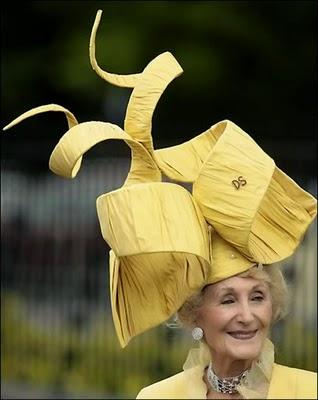 Craziest glamorous hats