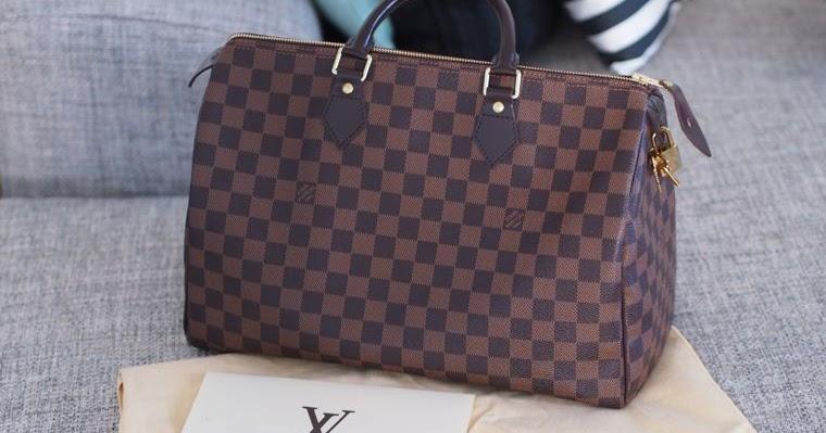 Myydään Louis Vuitton Käsilaukku : Myyd??n louis vuitton speedy damier ebene lindsay s