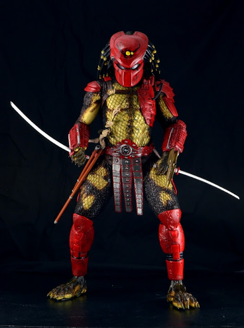 "NECA 1/4 Scale 18"" ""Big Red"" Predator Figure"