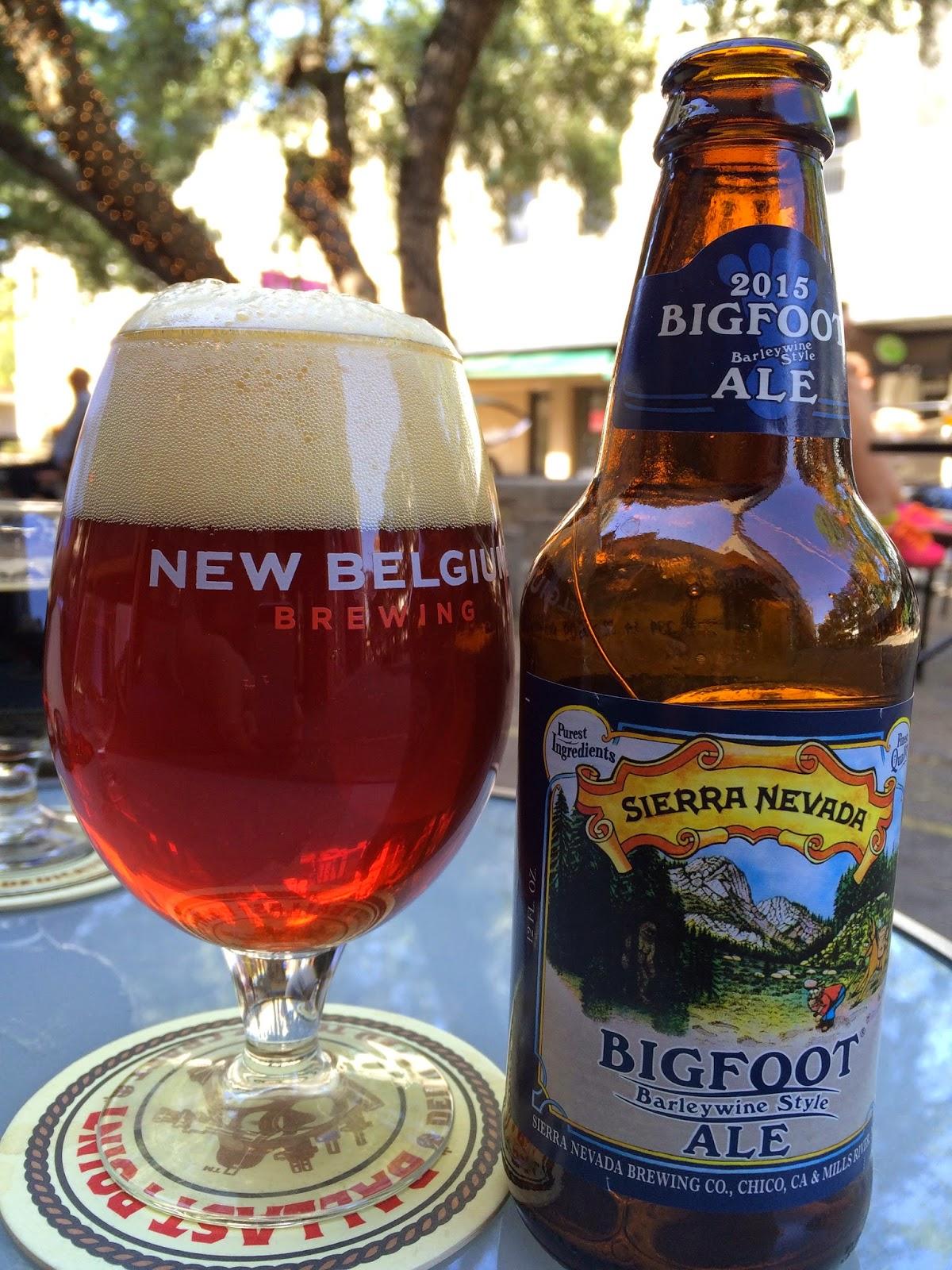 Sierra Nevada Bigfoot Ale 1