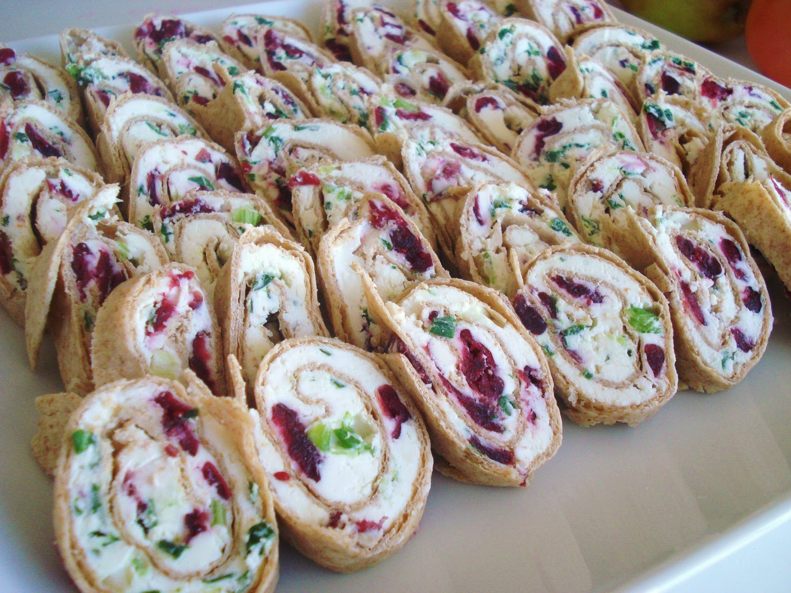 Party appetizer sweet amp savory pinwheels inspired rd