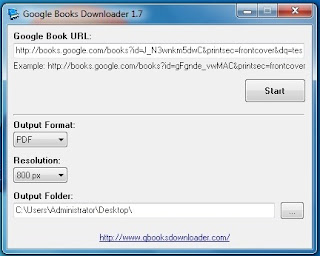 gbooks How to Download Google Books Easily using GBooks