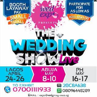 Wedding Vendors in Lagos, Abuja, PH! Get Ready!!