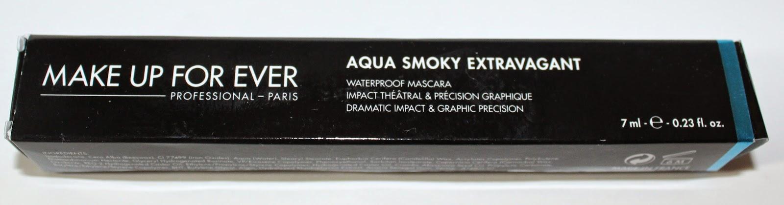 MAKE UP FOR EVER Aqua Smoky Extravagant Waterproof Mascara Box