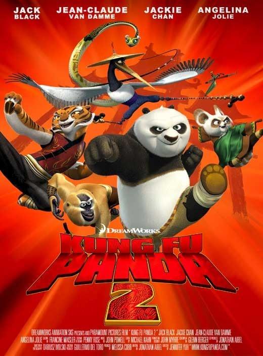 Kung Fu Panda 2 & Madagascar 3: Simple Past