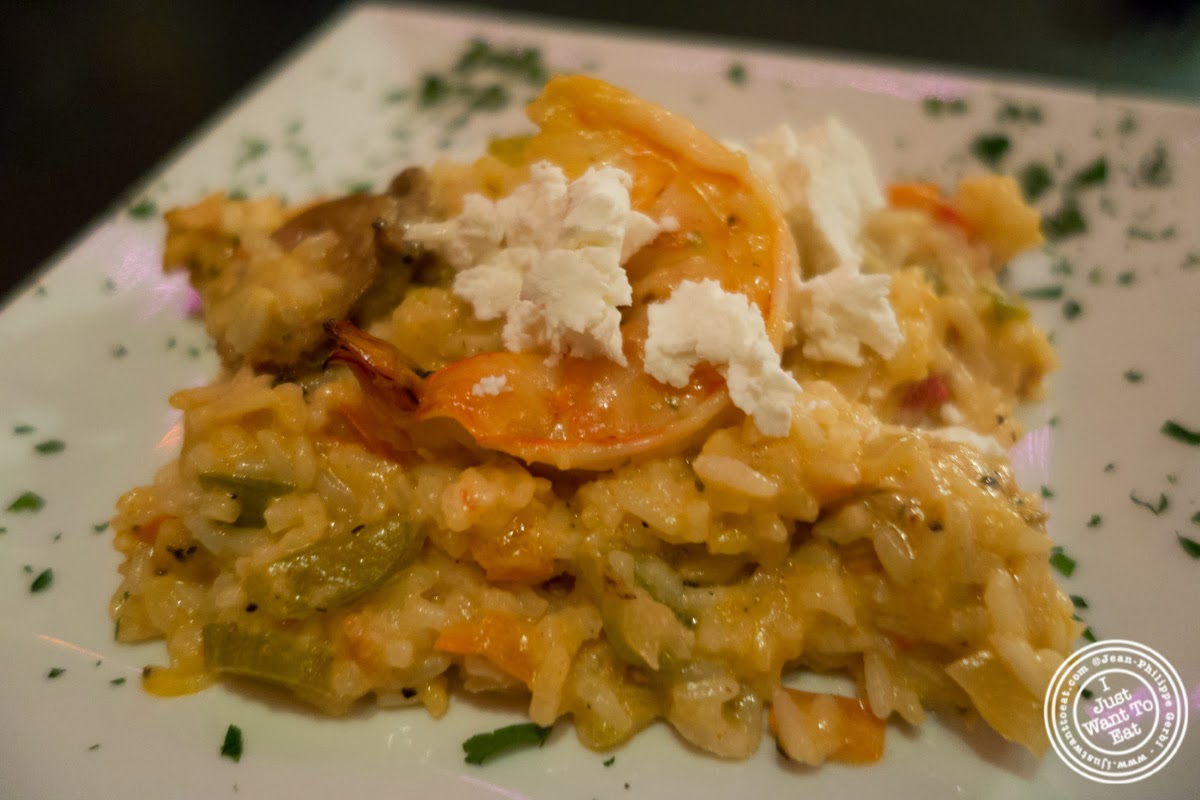 image of Jambalaya at MASQ New Orleans inspired cuisine in NYC, New York