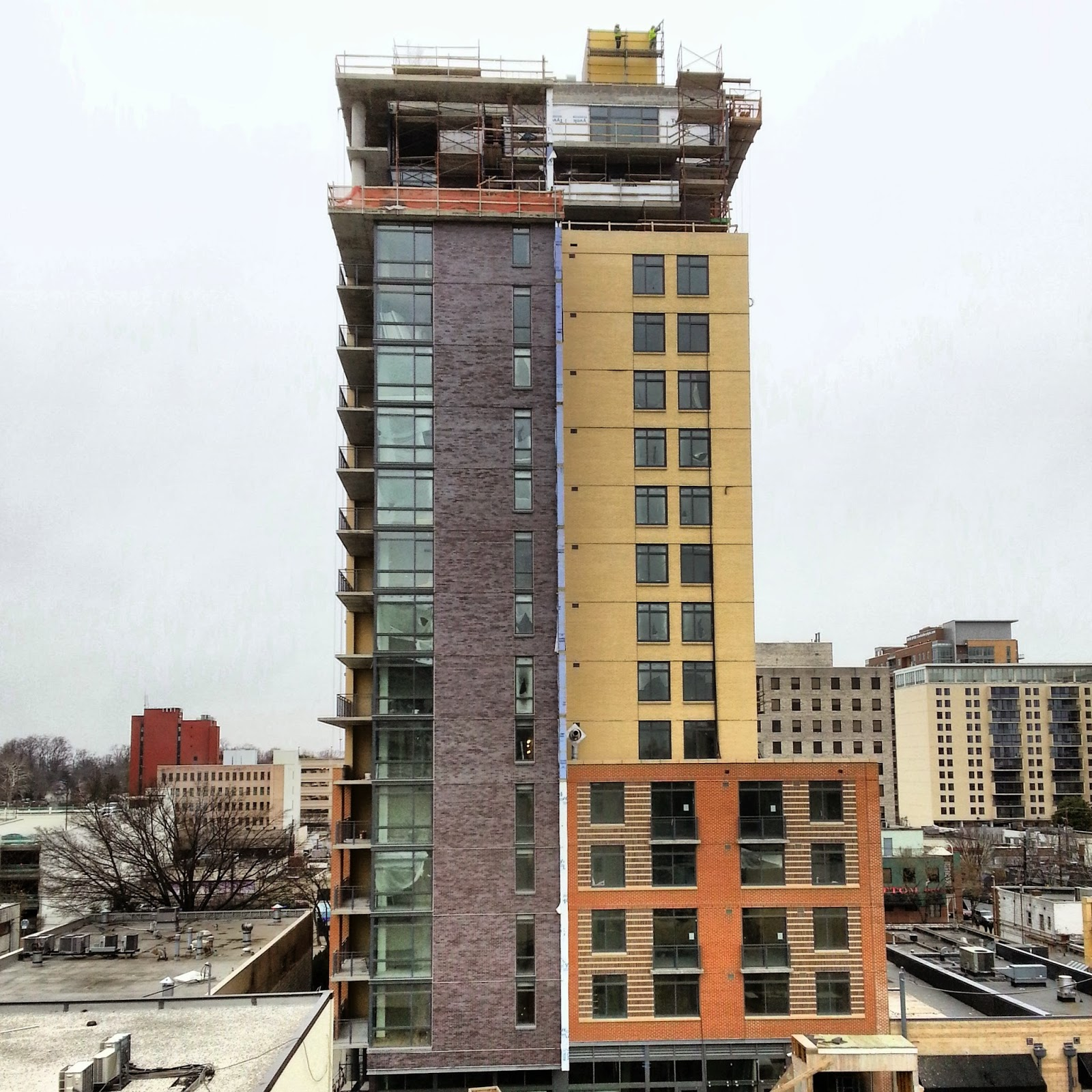 Beau BAINBRIDGE BETHESDA LUXURY APARTMENTS CONSTRUCTION UPDATE (PHOTOS)
