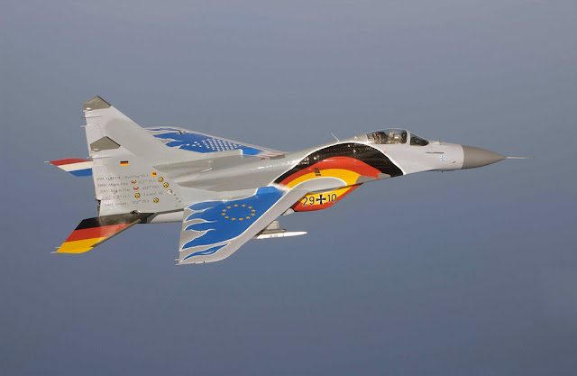 Painted German Mig-29