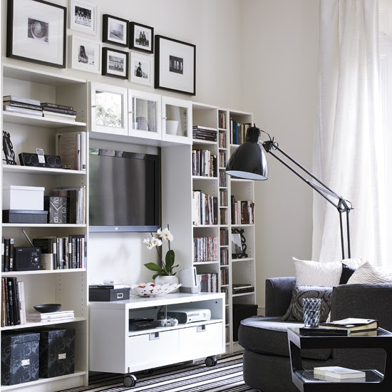 10 Small House Interior Design Solutions: New Home Interior Design: Storage Solutions For Small Spaces