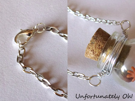 easy bottle necklace DIY