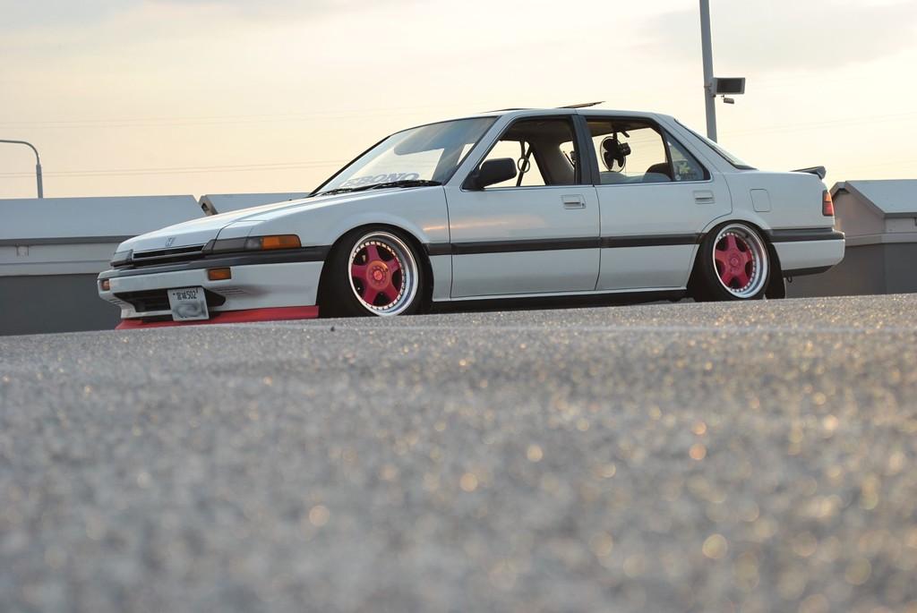 Honda Accord III (CA), japońskie youngtimery, stare samochody, ciekawe auta, tuning, pasja, zdjęcia