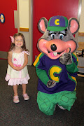 A little Chuck E Cheese Birthday