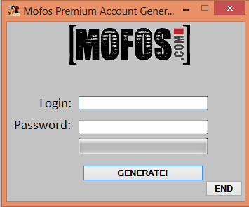 mofos login and password