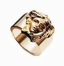 I Need This: Versace Gold Medusa Head Ring