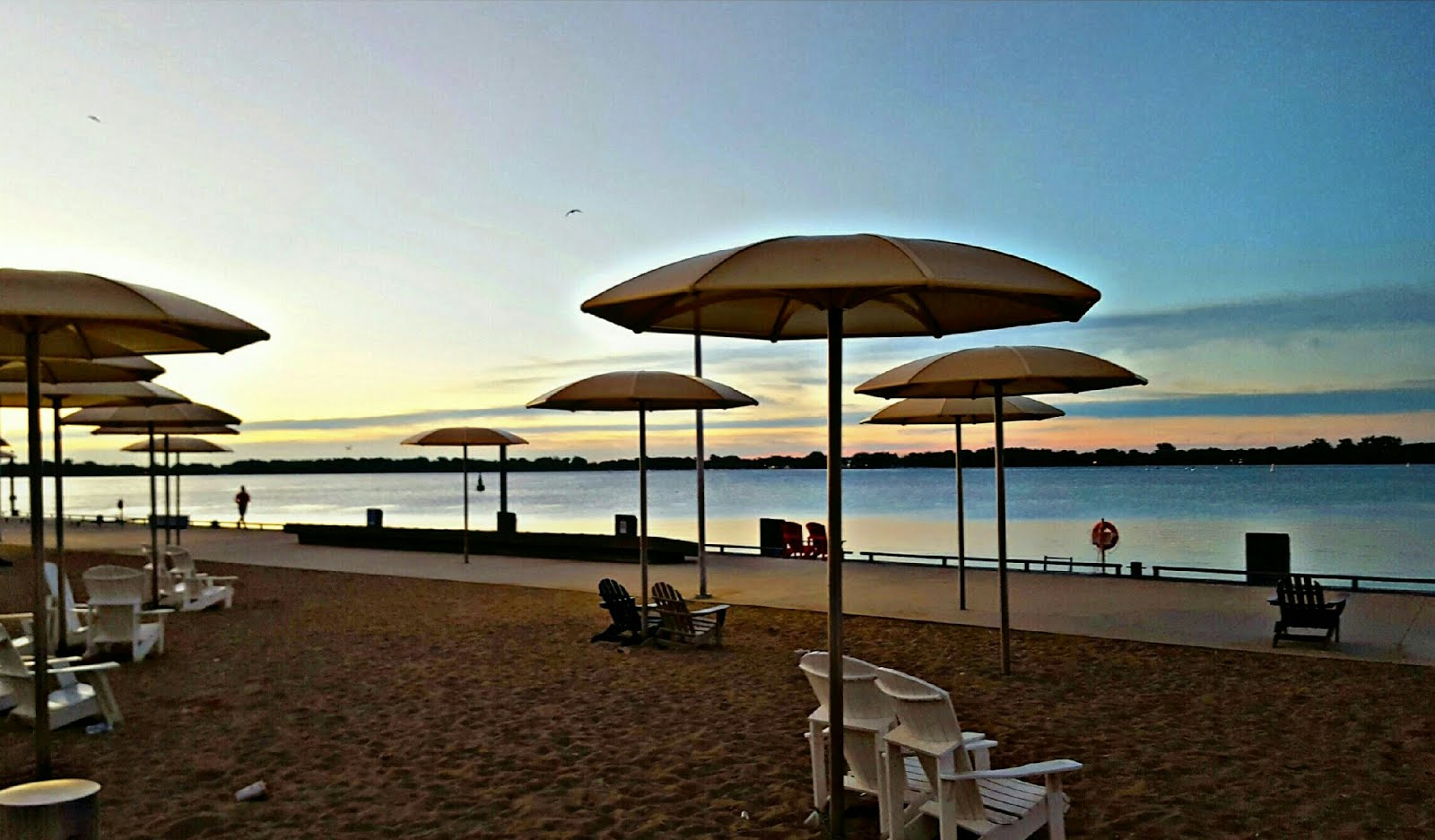 Catch The Sunset At H20 Park • 6:45 Is A Great Time For A Jog • A Book And A Coffee Perhaps...