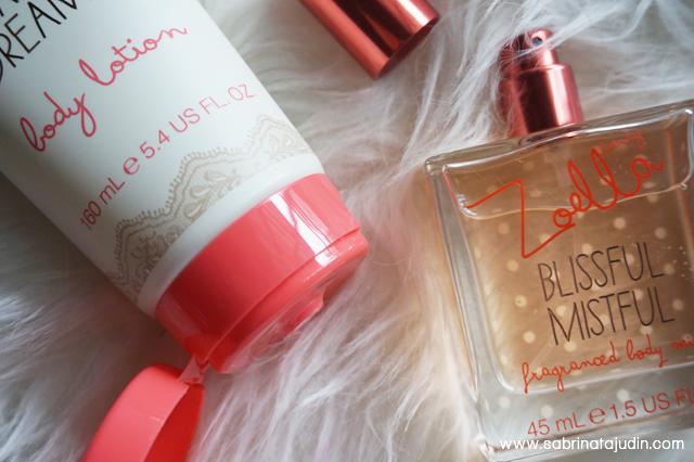 Zoella beauty range review sabrina tajudin malaysia for Zoella beauty table