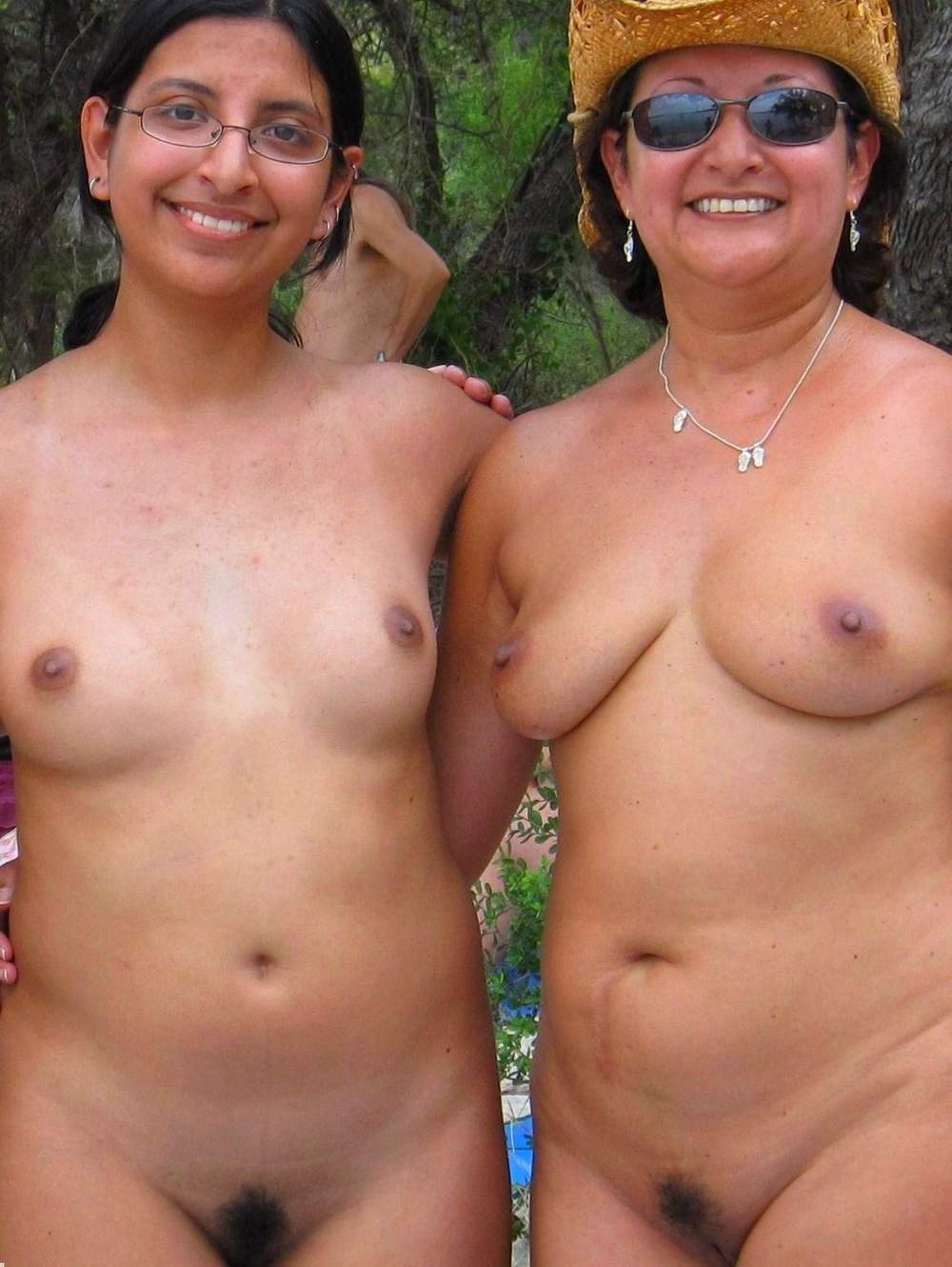 Indian nudist mother and daughter nude