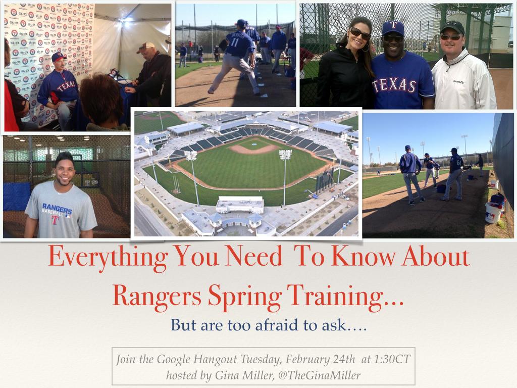texas rangers spring training, rangers spring training 2015, texas rangers