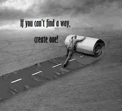 If u can't find a way create one