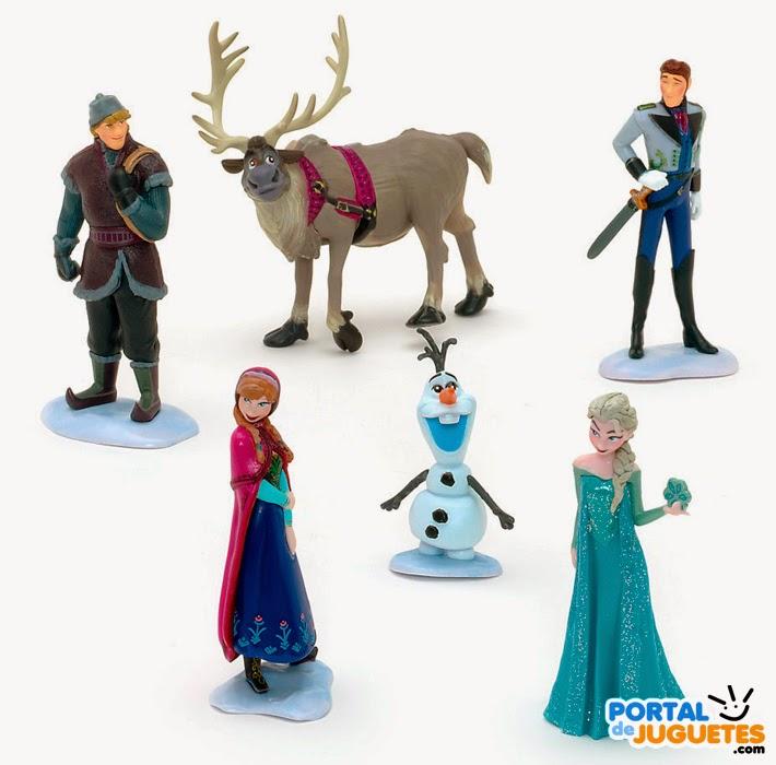 figuras frozen disney store nueva edicion