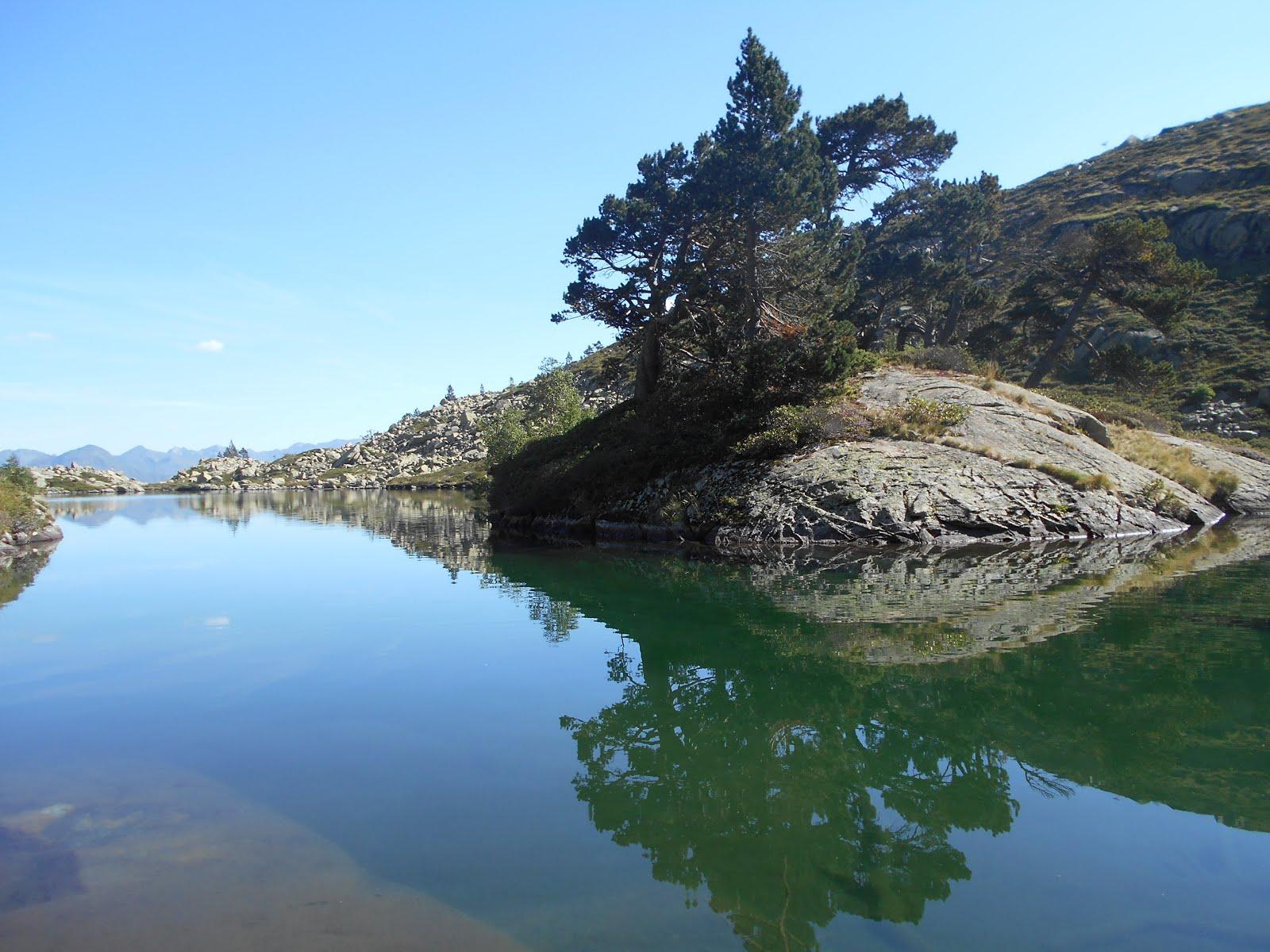 Lacs au dessus de Luz