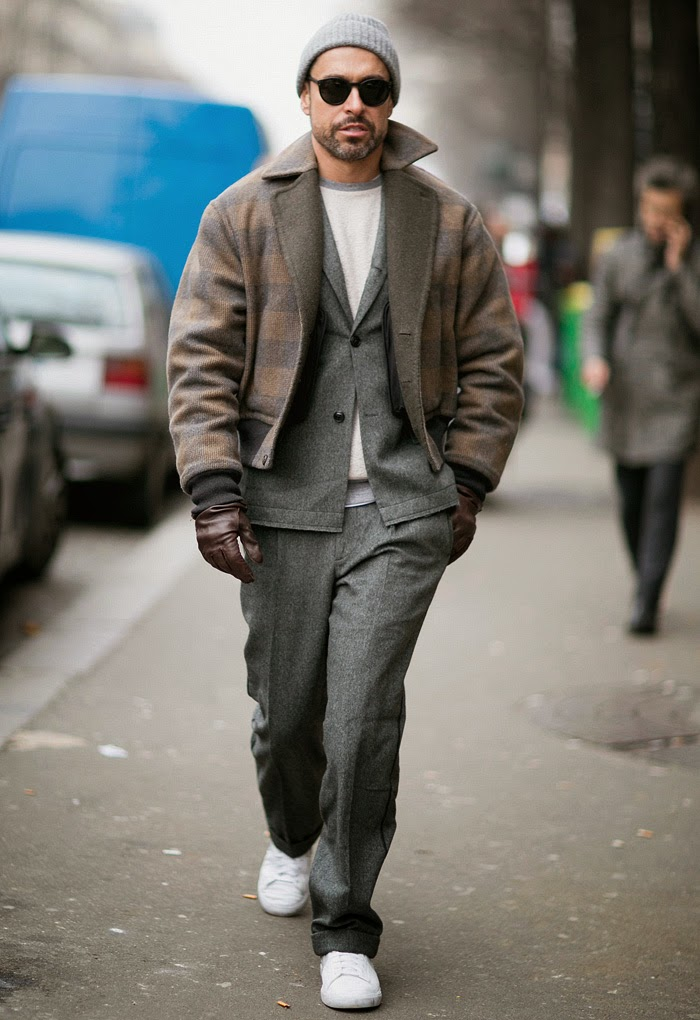 Paris Men's Fashion Week Fall/Winter 2015 Street Style