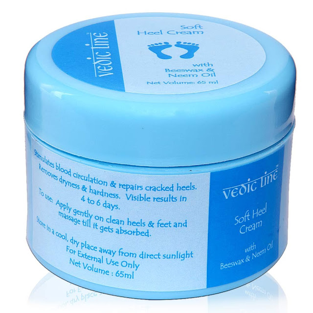 Vedic Line Soft Heel Cream Review
