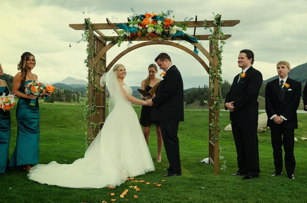 Keystone Golf course wedding