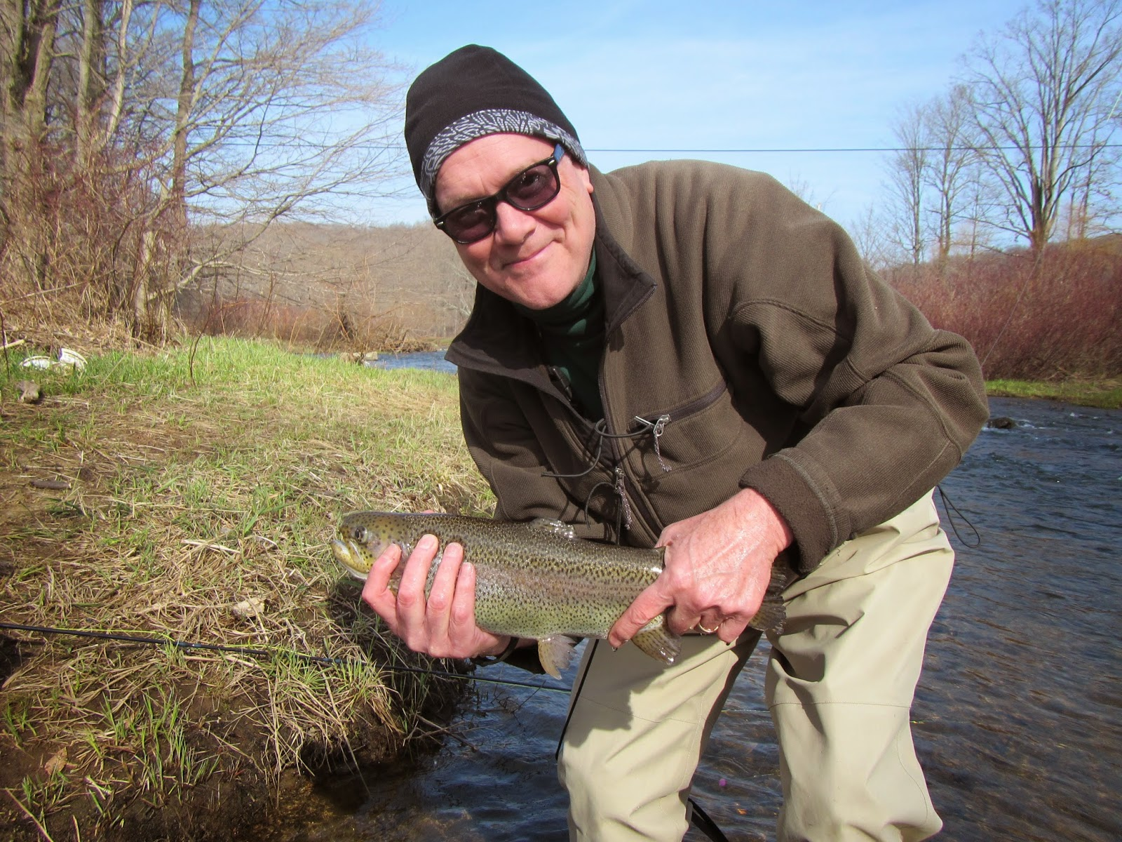 Western maryland fly fishing low flows and blue quills on for Trout fishing maryland