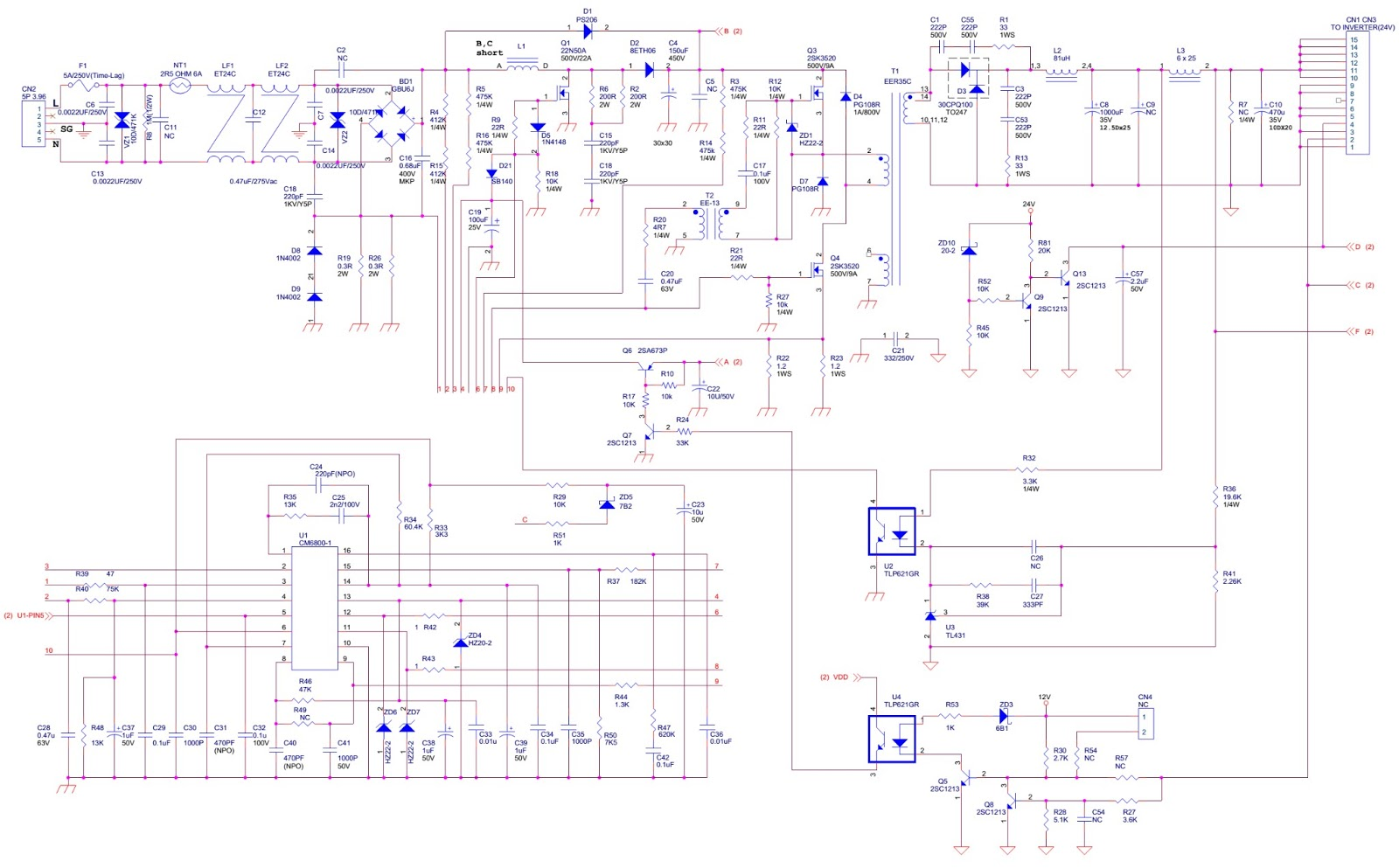 vizio l30wgu 30 lcd tv main power schematic circuit diagram rh electronicshelponline blogspot com visio wiring diagram and excel visio wiring diagram and excel