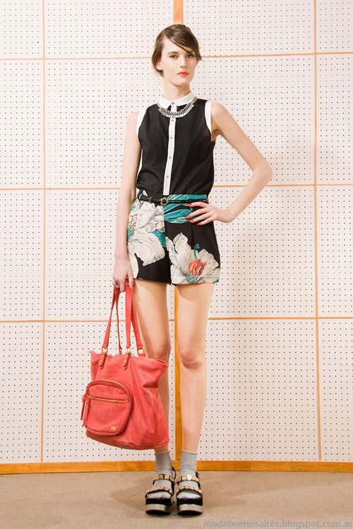Shorts verano 2014 moda argentina marca Las Pepas.
