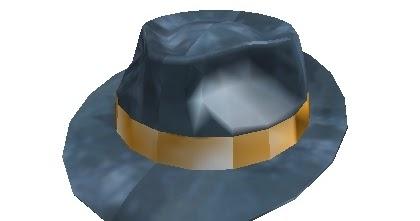 Roblox News Black Friday Hat Review Bluesteel Fedora