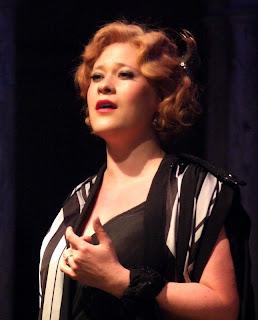 Ilona Domnich as Magda in Puccini's La Rondine in 2014