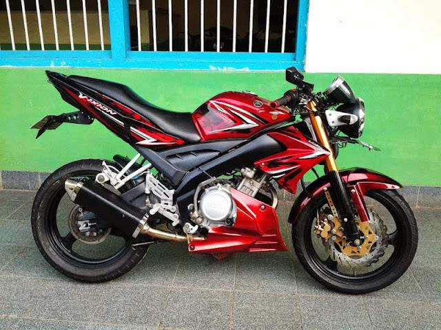 Modifikasi Motor Yamaha Vixion 2013