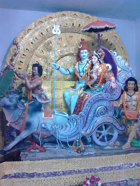 Shiva Parbati Medha 2015 From Balikuda, Jagatsinghpur - Photo By Ranjit Sasmal