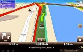 Aplikasi GPS Android Mapfactor