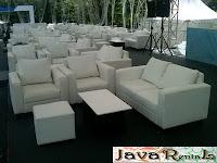 Sewa Sofa Double Seater Minimalis Murah Jakarta