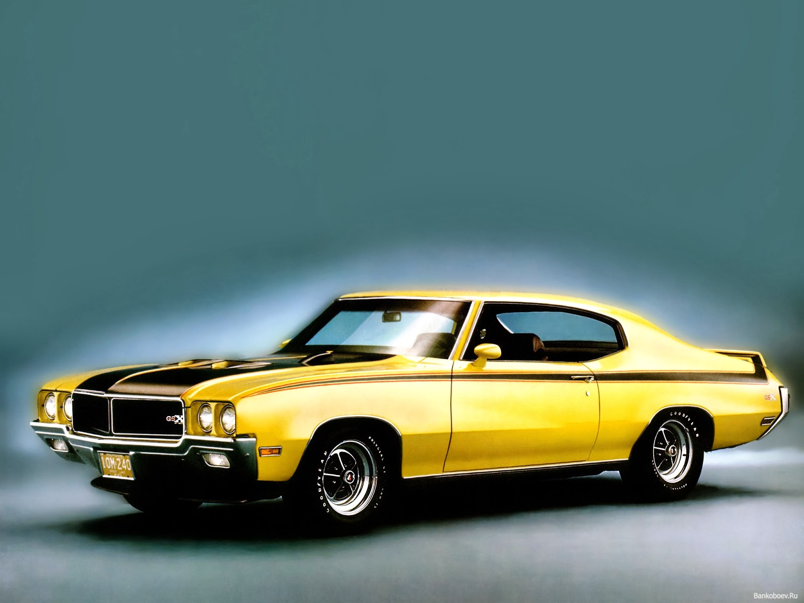 The Best Old Muscle cars 1970 Buick GSX