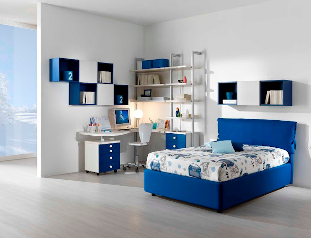chambre ado garcon design id es d co pour maison moderne. Black Bedroom Furniture Sets. Home Design Ideas