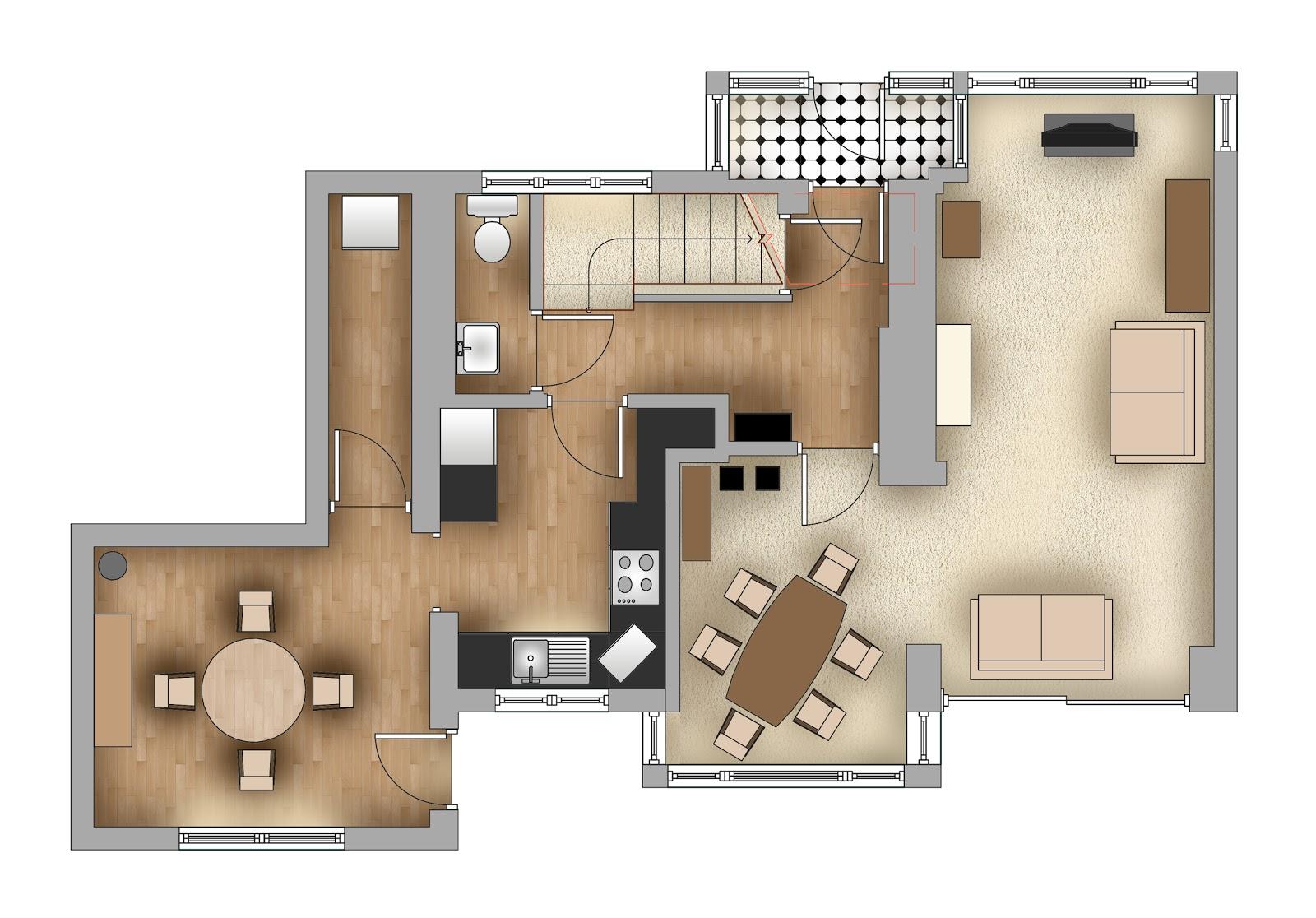 28 rendered floor plan floor plan rendering drawing for Rendered floor plan