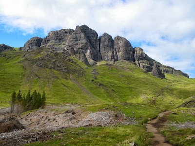 Isle of Skye, Trotternish, Highlands, Scotland, Escocia, United Kingdom, Old Man of Storr