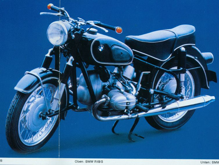 The velobanjogent sorbo 39 s recently restored bmw r69s 600cc twin