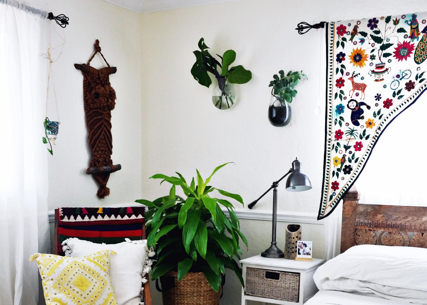 ohdeardrea messy happy plants tiny bedroom changes