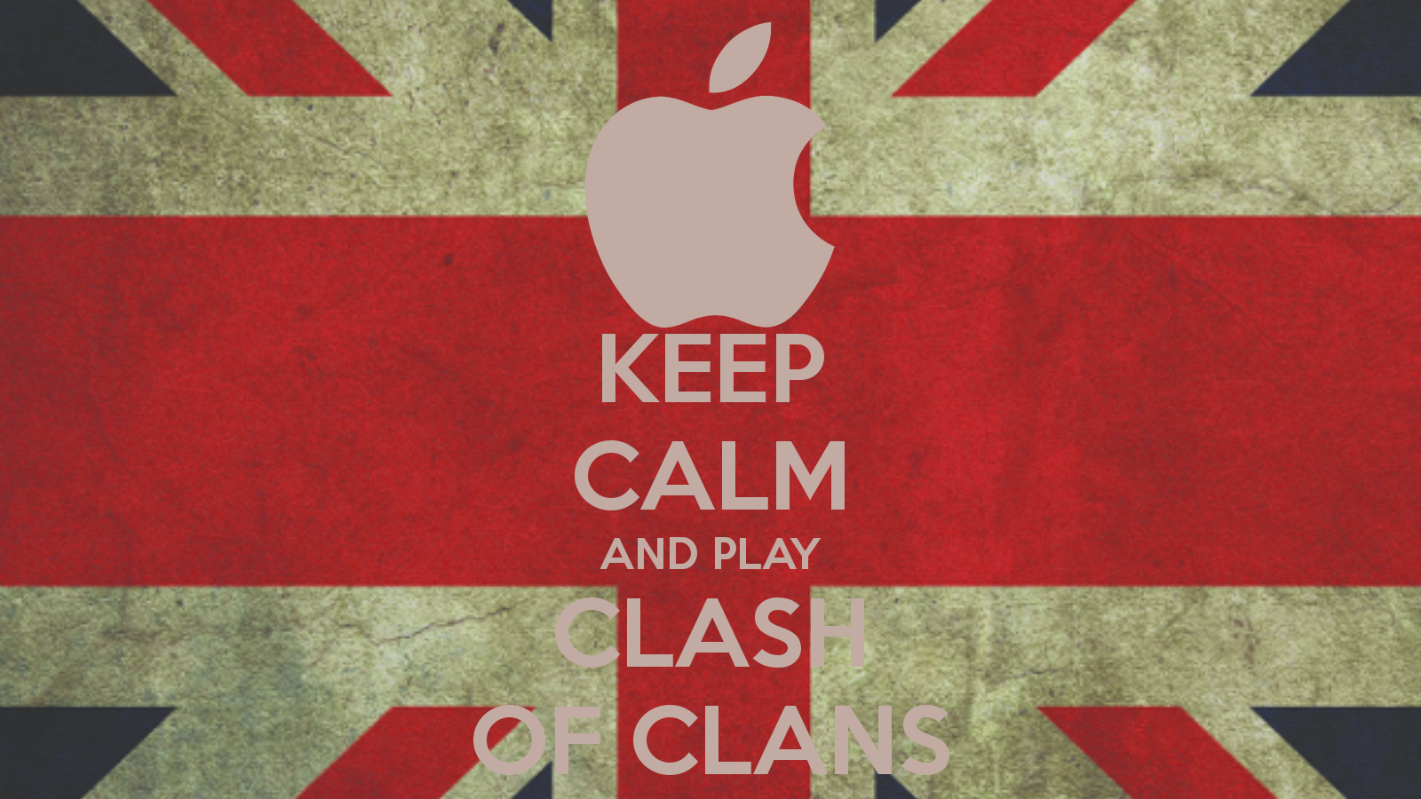 Keep Calm and Play Clash of Clans HD Wallpape