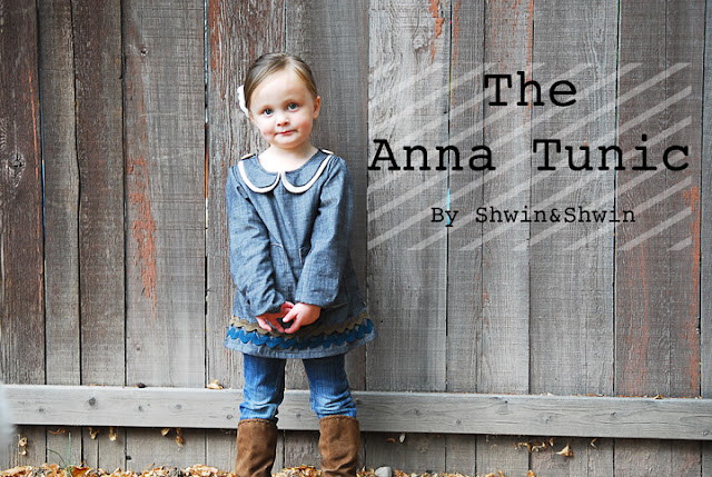 anna tunic sewing tutorial
